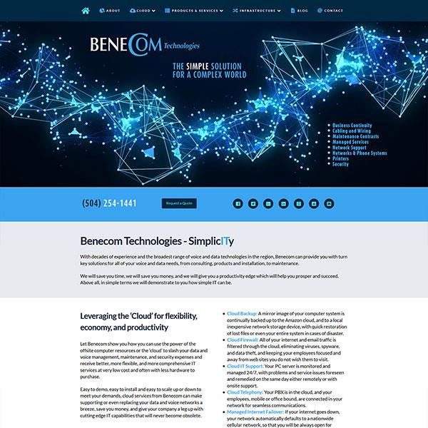 Website Design Portfolio 1