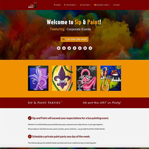 Website Design Portfolio 6