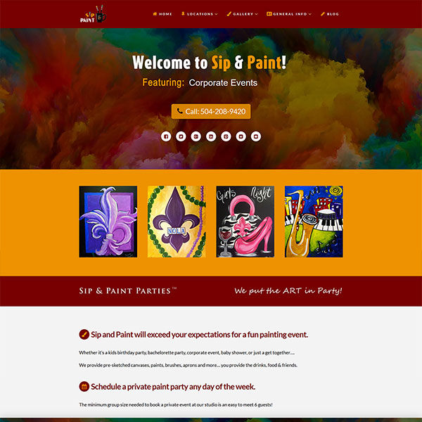 Website Design Portfolio 6